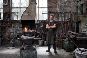 Implement by blacksmith Conrad Hicks @ Southern Guild